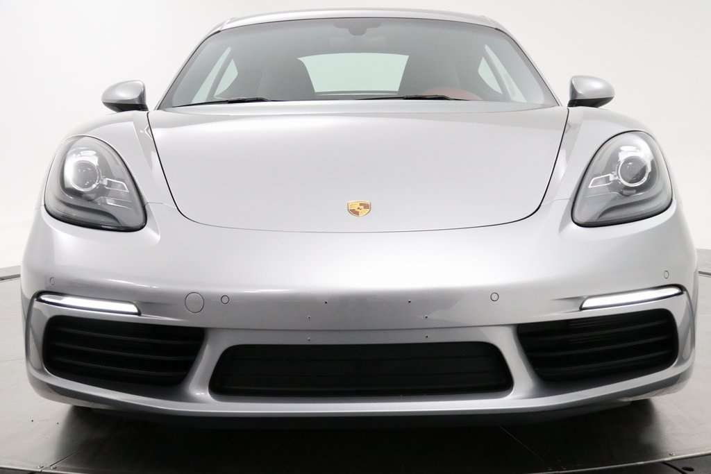 Certified Pre-Owned 2017 Porsche 718 Cayman Base