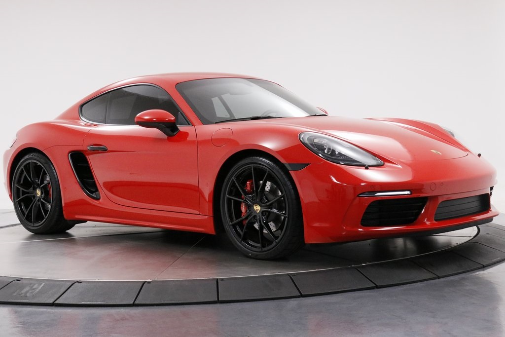 Certified Pre-Owned 2017 Porsche 718 Cayman S
