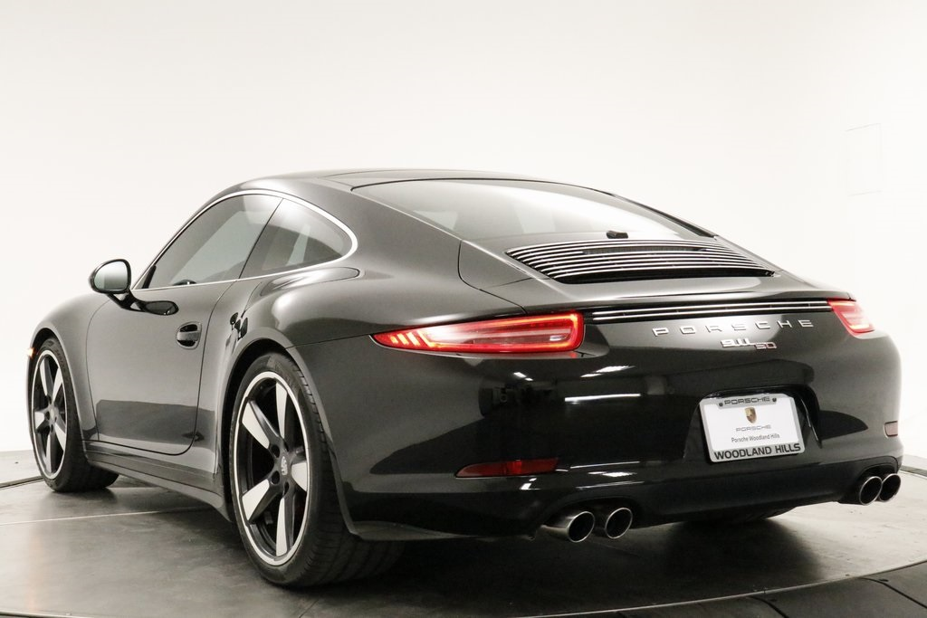 Certified Pre-Owned 2014 Porsche 911 50th Anniversary Edition
