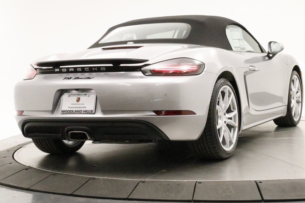 New 2019 Porsche 718 Boxster Base