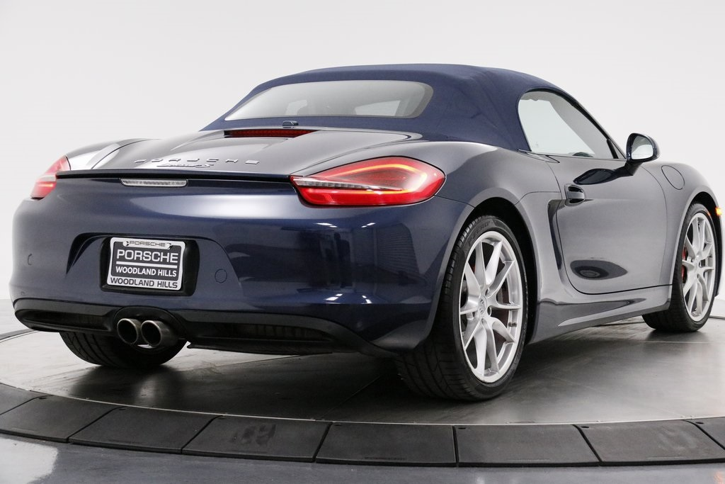 Certified Pre-Owned 2013 Porsche Boxster S