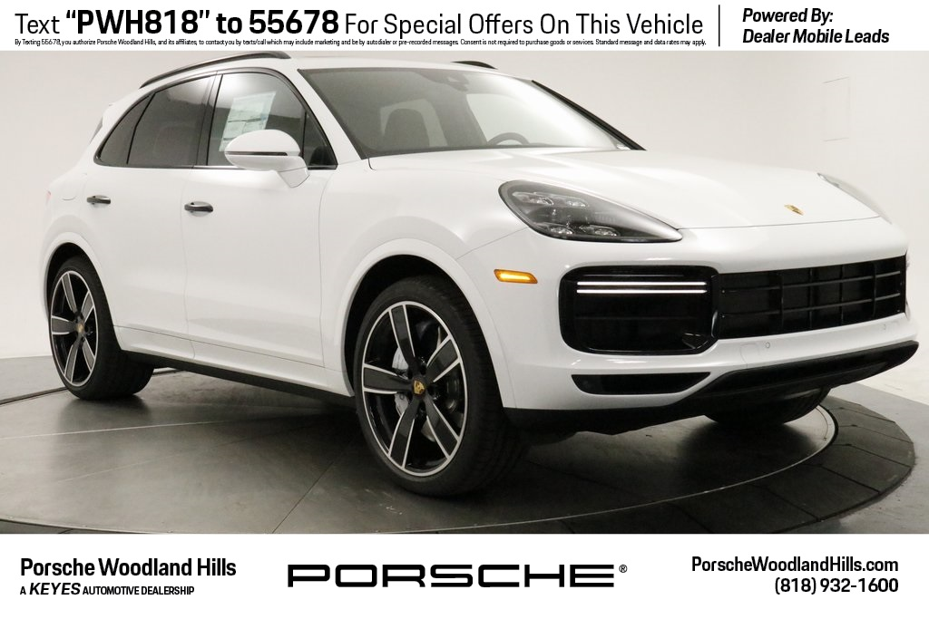 New 2019 Porsche Cayenne Turbo 4d Sport Utility In Woodland Hills