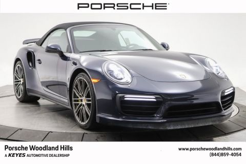 Certified Pre-Owned 2018 Porsche 911 Turbo